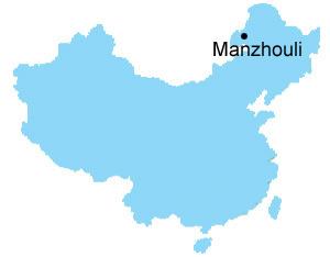 Manzhouli Map Map Of China Manzhouli City Maps - Manzhouli map