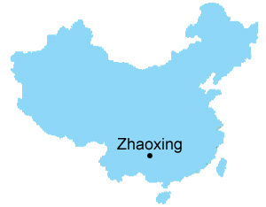 Zhaoxing Map , Map of China, Zhaoxing City Maps