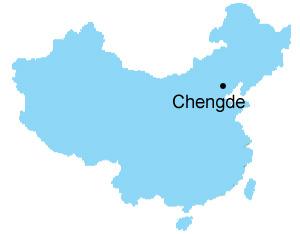 Chengde Map Map Of China Chengde City Maps - Chengde map