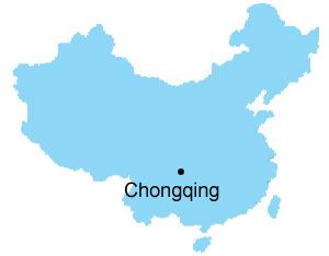 Chongqing Map Map of China Chongqing City Maps