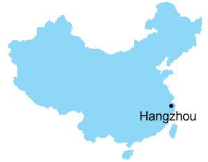 Hangzhou Map Map of China Hangzhou City Maps