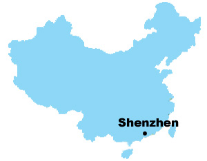 Shenzhen Map , Map of China, Shenzhen City Maps
