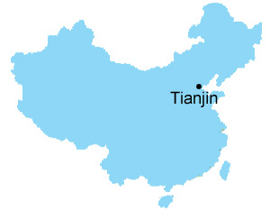 Tianjin map map of china tianjin city maps tianjin maps gumiabroncs Image collections
