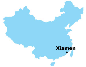 Xiamen Map Map Of China Xiamen City Maps