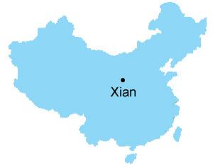 Xian Map , Map of China, Xian City Maps