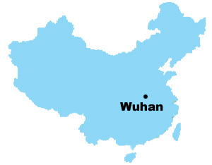 Wuhan Map Map of China Wuhan City Maps
