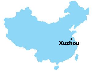 Xuzhou Map Map Of China Xuzhou City Maps