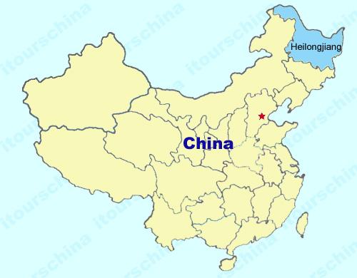 Heilongjiang Map, Map of China, Heilongjiang Province Maps