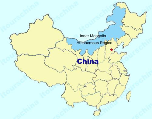 Inner mongolia map map of china inner mongolia province maps inner mongolia gumiabroncs Gallery