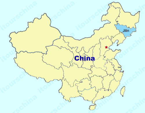 Jilin Map Map Of China Jilin Province Maps