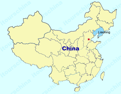 Region Of China Map.Liaoning Map Map Of China Liaoning Province Maps