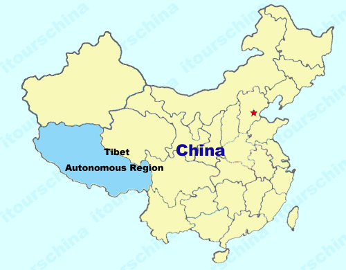 Tibet Map Map Of China Tibet Province Maps