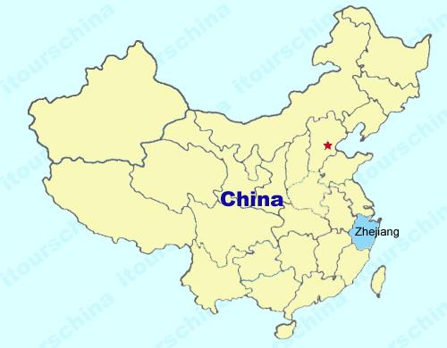 Zhejiang Map Map Of China Zhejiang Province Maps Citiestips Com