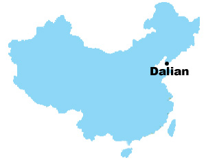 Dalian Map Map of China Dalian City Maps