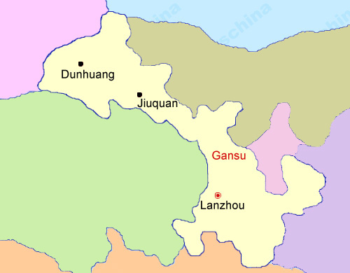 Gansu China Map.Gansu Map Map Of China Gansu Province Maps