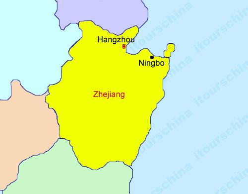 Zhejiang Map Map Of China Zhejiang Province Maps
